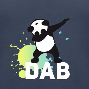 dabbing football touchdown mooving dance panda - Women's Premium Tank Top