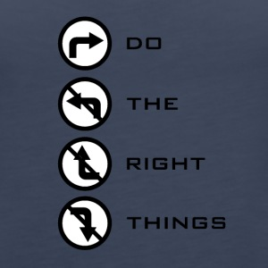 Do the right things - Women's Premium Tank Top