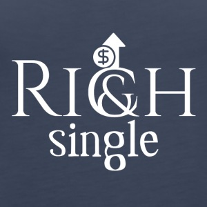 Rich and single - Women's Premium Tank Top