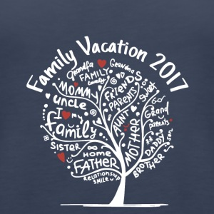 family vacation 2017 - Women's Premium Tank Top