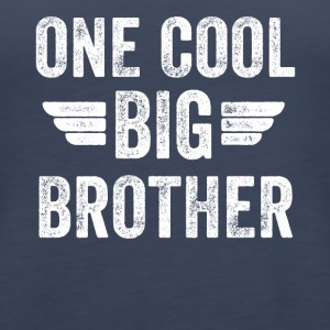 One cool big brother - Women's Premium Tank Top