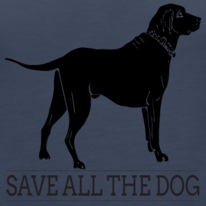 save all the dog - Women's Premium Tank Top