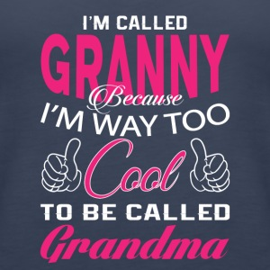 I'M CALLED GRANNY - Women's Premium Tank Top