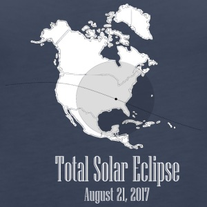eclipse august 2017 - Women's Premium Tank Top