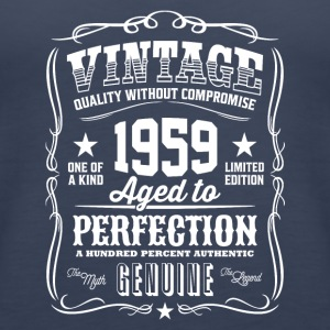Vintage 1959 Aged to Perfection - Women's Premium Tank Top