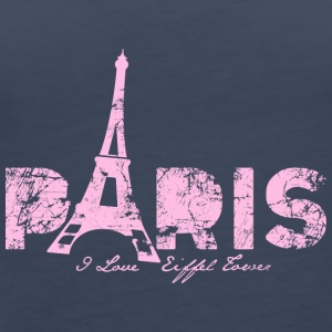 i-love-Paris - Women's Premium Tank Top