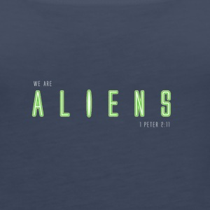 WE ARE ALIENS - Women's Premium Tank Top