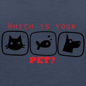 Which is you Pet - Women's Premium Tank Top