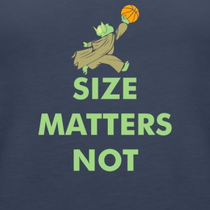 Size Matters Not - Women's Premium Tank Top
