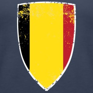 Flag of Belgium - Women's Premium Tank Top
