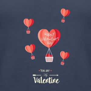 Happy Valentines Day - Women's Premium Tank Top