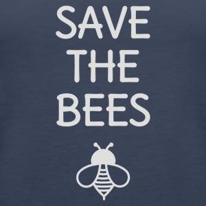 Save The Bees - Women's Premium Tank Top