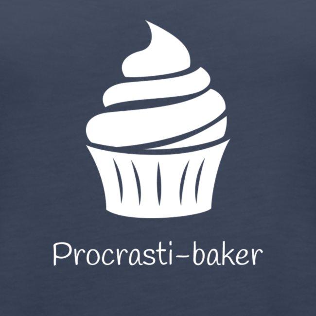 Procrasti-baker - white