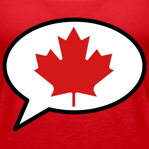 We Speak Canadian - Women's Premium Tank Top