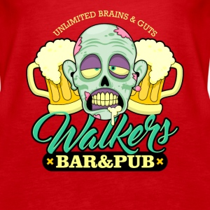 Zombie Walkers Bar and Pub - Women's Premium Tank Top