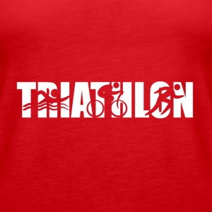 Triathlon Men,Women,Mom,Dad,Girl Shirt,Hoodie,Tank - Women's Premium Tank Top