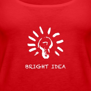 Bright Idea - Women's Premium Tank Top