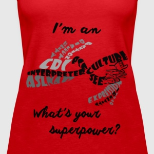 INTERPRETER PRIDE - Women's Premium Tank Top