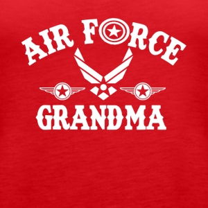 Airforce Grandma Shirt - Women's Premium Tank Top