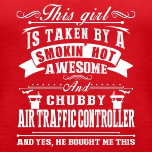 Awesome Air Traffic Controller Shirt - Women's Premium Tank Top