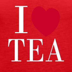 I love TEA - Women's Premium Tank Top
