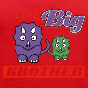 I'm the Big Brother designs - Women's Premium Tank Top