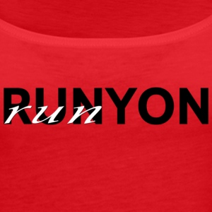 Run Runyon Canyon - Women's Premium Tank Top
