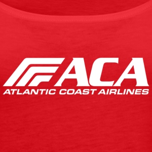 atlantic coast airlines 843 - Women's Premium Tank Top