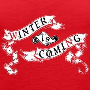 Winter Is - Women's Premium Tank Top