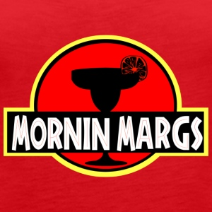 Mornin Margs JP - Women's Premium Tank Top