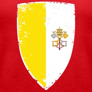 Flag of Vatican - Women's Premium Tank Top