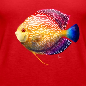Discus Fish - Women's Premium Tank Top
