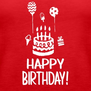 Happy Birthday - Women's Premium Tank Top