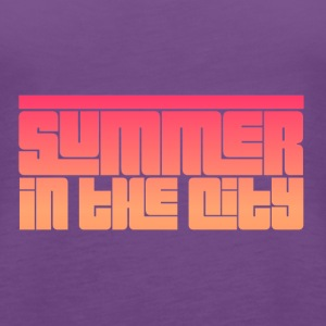 Summer in the City - Women's Premium Tank Top