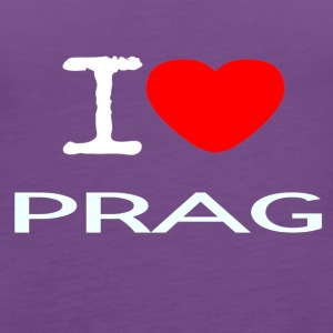 I LOVE PRAG - Women's Premium Tank Top