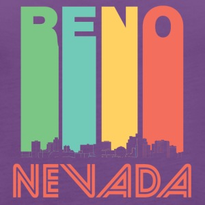 Retro Reno Nevada Skyline - Women's Premium Tank Top
