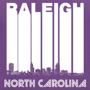 Retro Raleigh North Carolina Skyline - Women's Premium Tank Top
