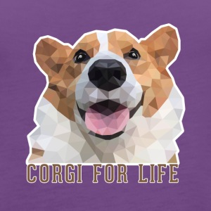 Corgi for life - Women's Premium Tank Top