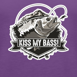 Bass Fishing Tshirt - Women's Premium Tank Top