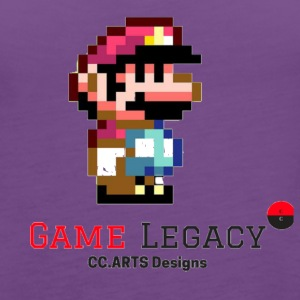 CC ARTS DESIGNS GAME LEGACY 2 - Women's Premium Tank Top