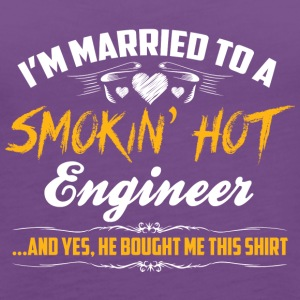 engineer married - Women's Premium Tank Top