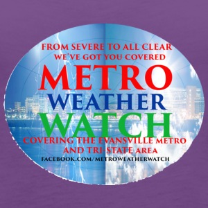 Metro Weather Watch Merchandise - Women's Premium Tank Top
