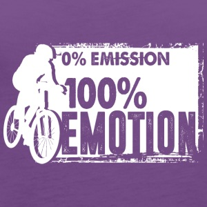 0% Emission - 100% Emotion - Women's Premium Tank Top