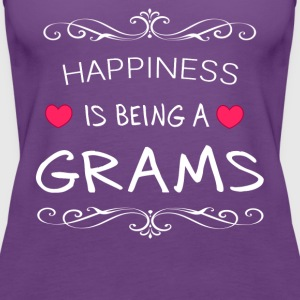 Happiness Is Being a GRAMS - Women's Premium Tank Top