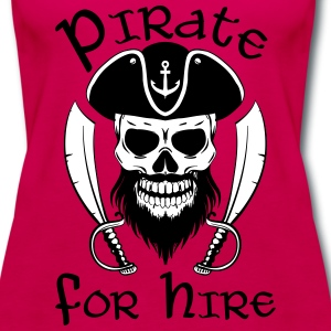 Pirate For Hire - Women's Premium Tank Top