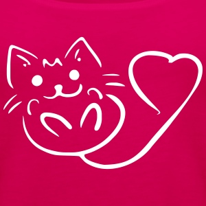 lovecat - Women's Premium Tank Top