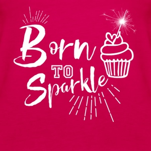 Born to Sparkle - Women's Premium Tank Top