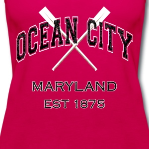 Ocean City Maryland Established 1875 - Women's Premium Tank Top