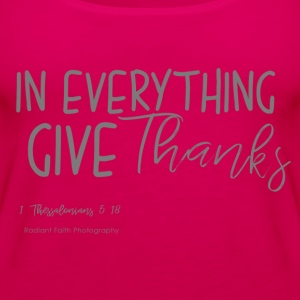 Give Thanks - Women's Premium Tank Top