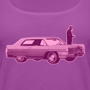 Shorty Cadillac Purple Pink - Women's Premium Tank Top